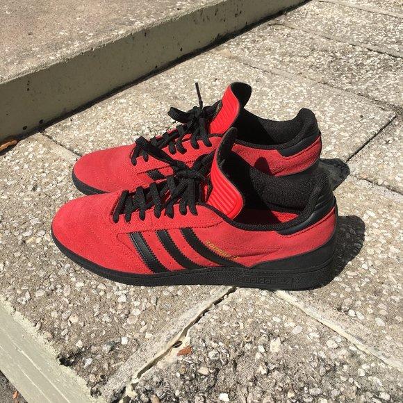 Adidas Shoes   Busenitz Rodrigo Tx Red
